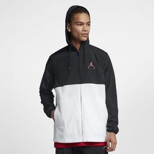 Nike Air Men's Jumpman Black White Windbreaker XXL